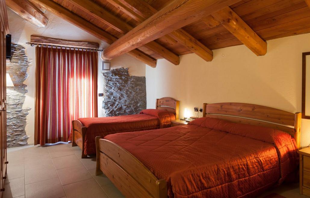 Hotel Chalet Faure, Sauze d'Oulx, Triple room